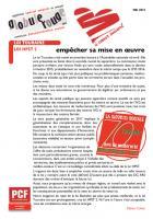A coeur ouvert - Mai 2015 - Loi Touraine : empêcher sa mise en oeuvre !