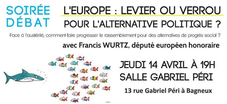 Soirée-débat le 14/04 sur les questions européennes avec Francis Wurtz